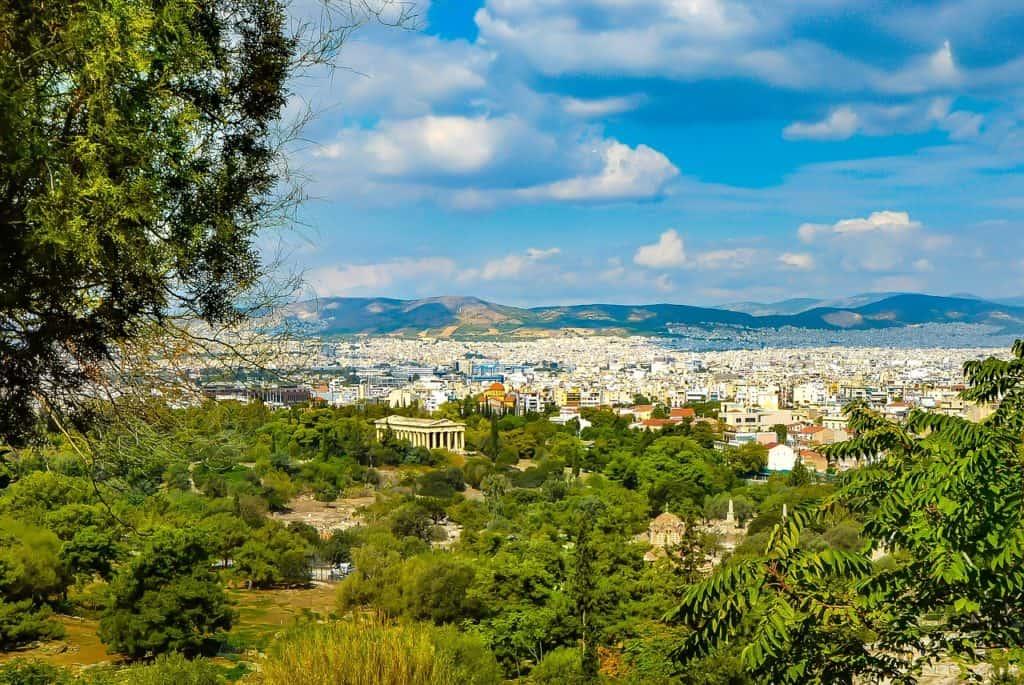 Athens Greece View