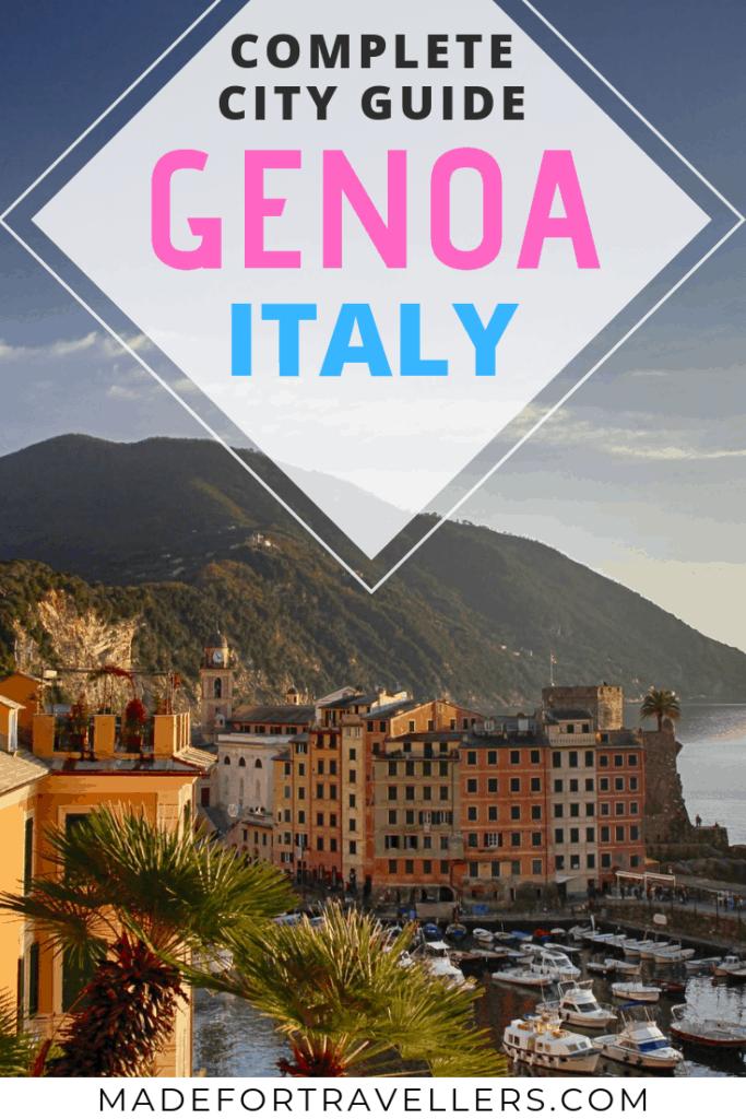 Genoa Italy Pinterest