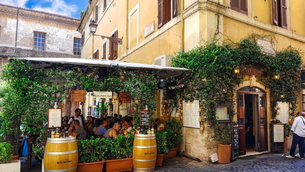 Trastevere restaurants