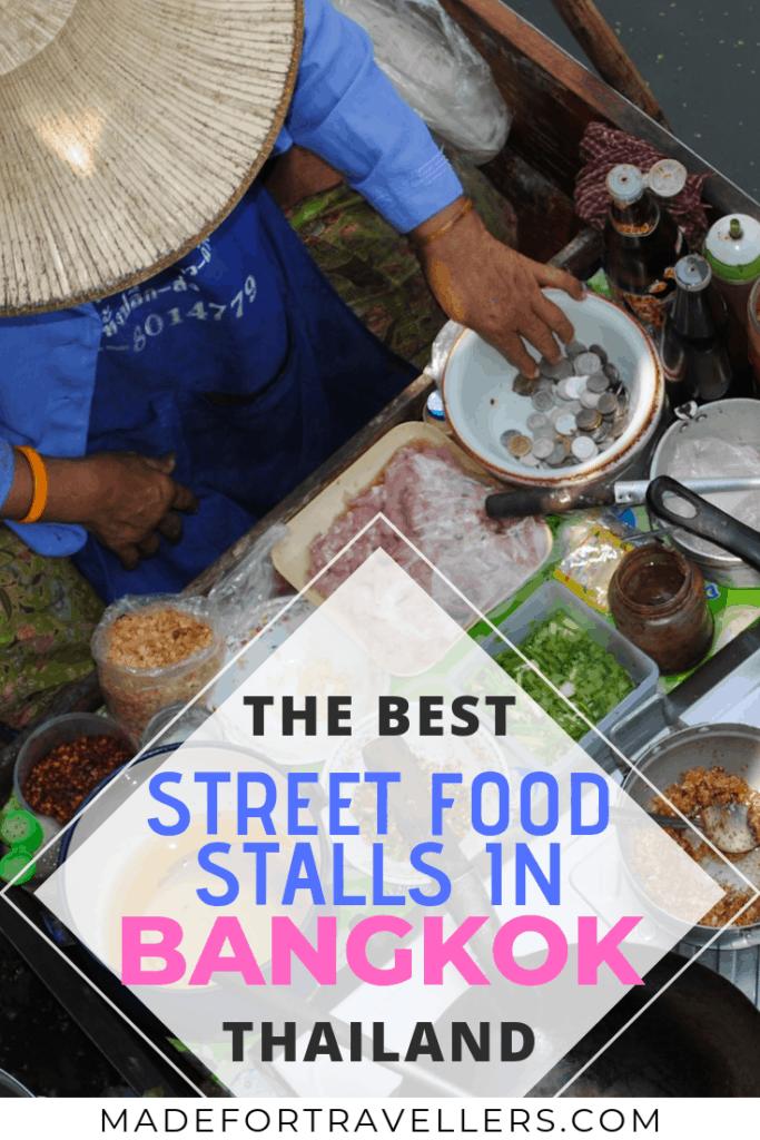 Bangkok Street Food Pinterest