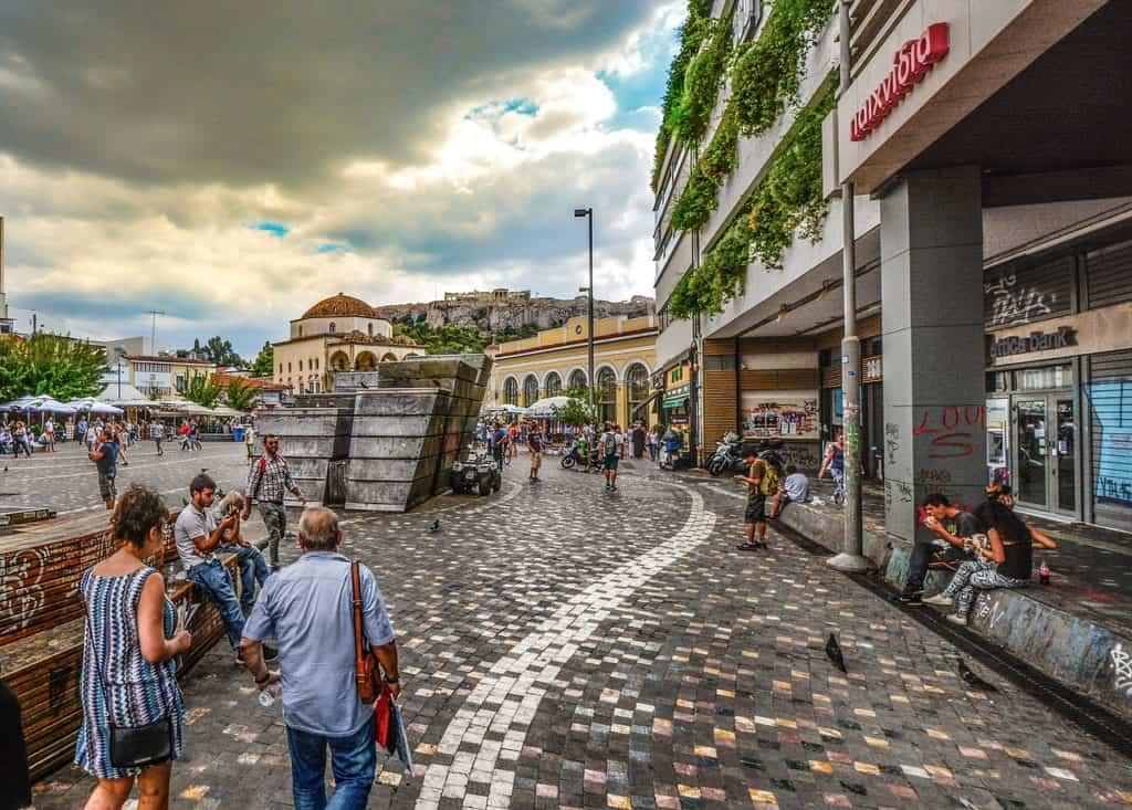 Athens shopping
